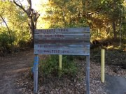Trail Signs at Monte Sano Nature Preserve
