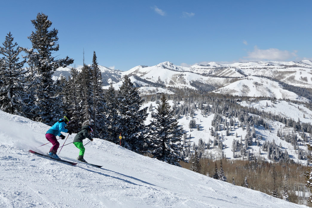Spend plenty of time on the mountain enjoying that world-famous Utah snow.
