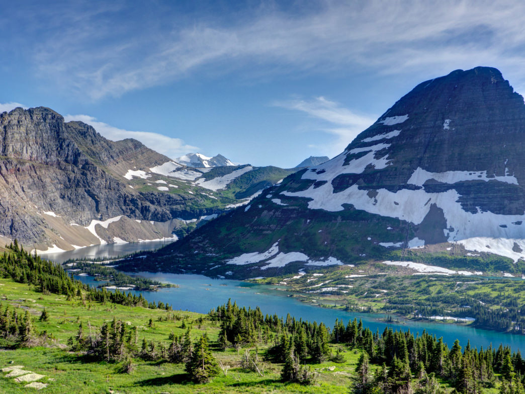 Glacier National Park's Hidden Lake in all its majesty.