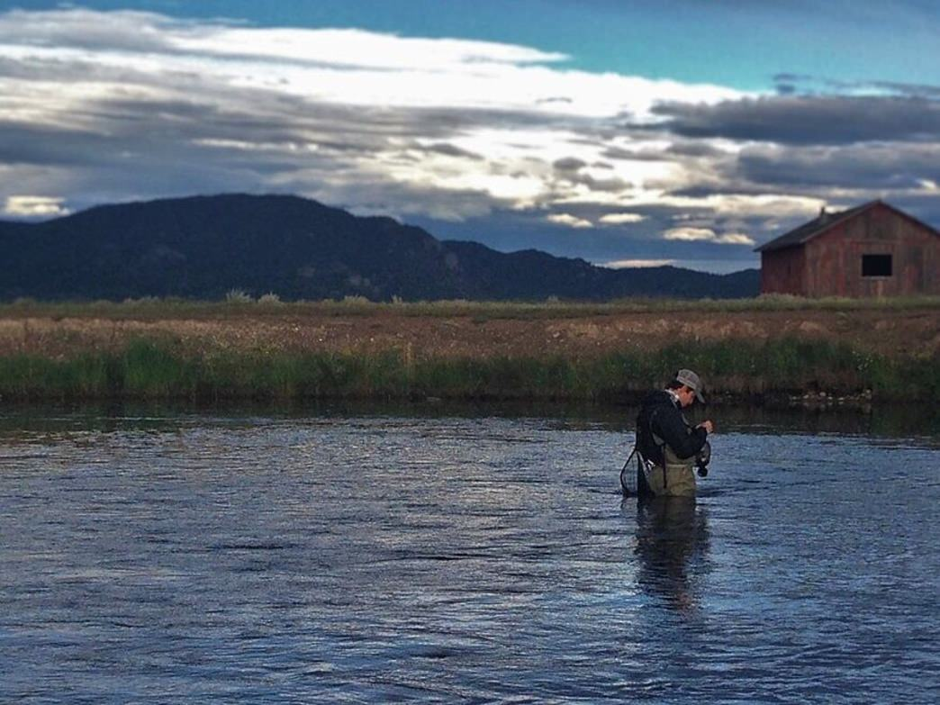 "One of the most unique and highly prized stretches of the South Platte River flows through the Charlie Meyers State Wildlife Area and is known to anglers as the ""Dream Stream."""