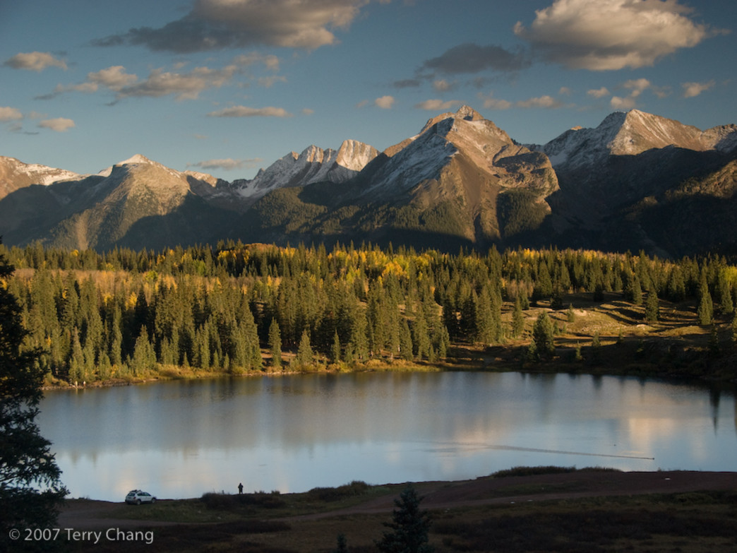 Molas Lake, near Silverton, CO, in the Autumn.