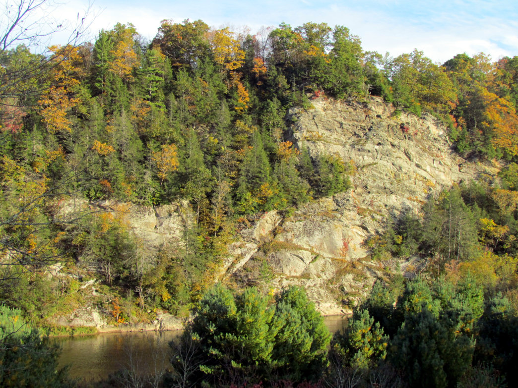 New River State Park features both hike-in and paddle-in campsites.