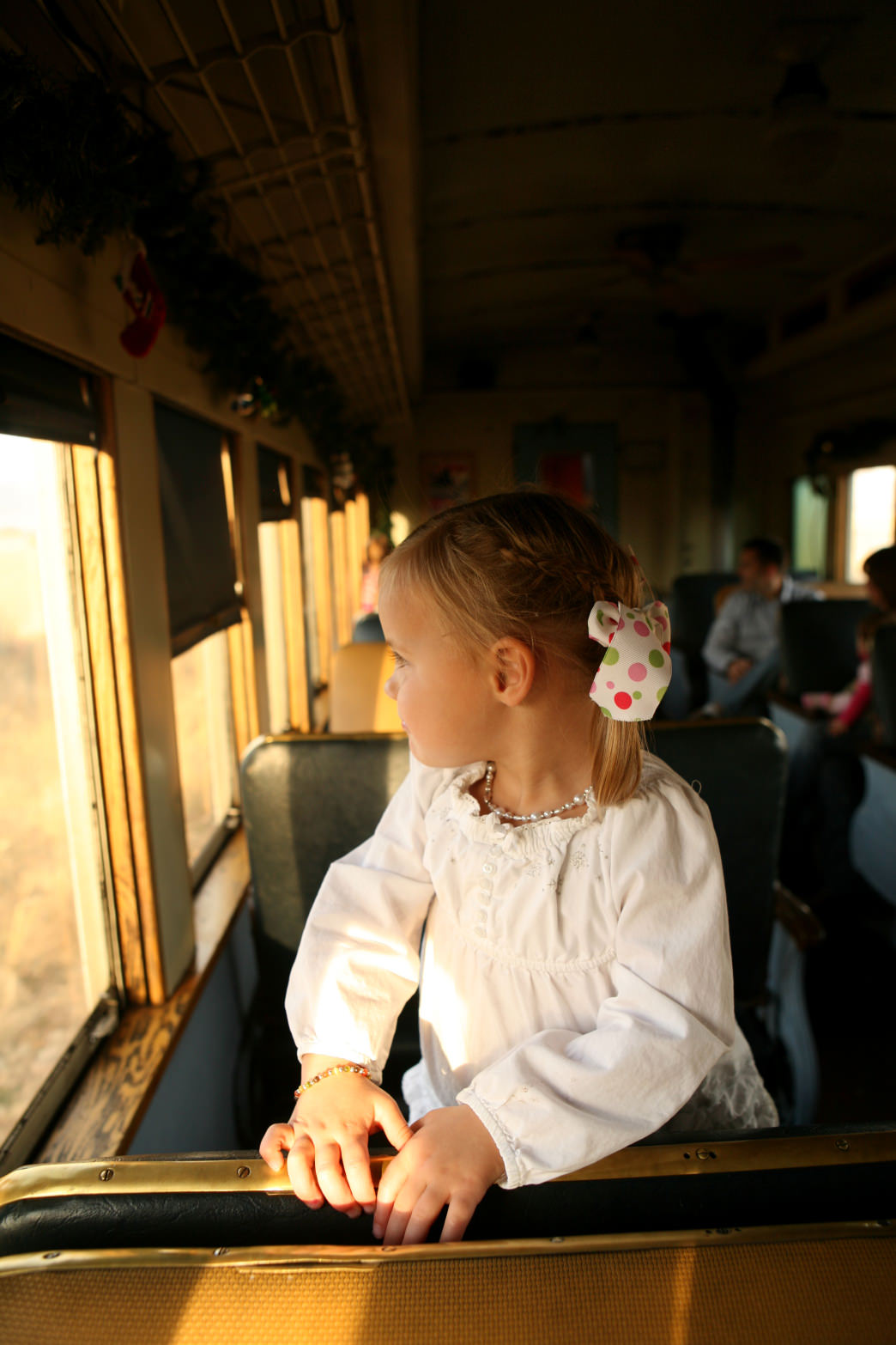 The Heber Valley Railroad offers a scenic trip for families.
