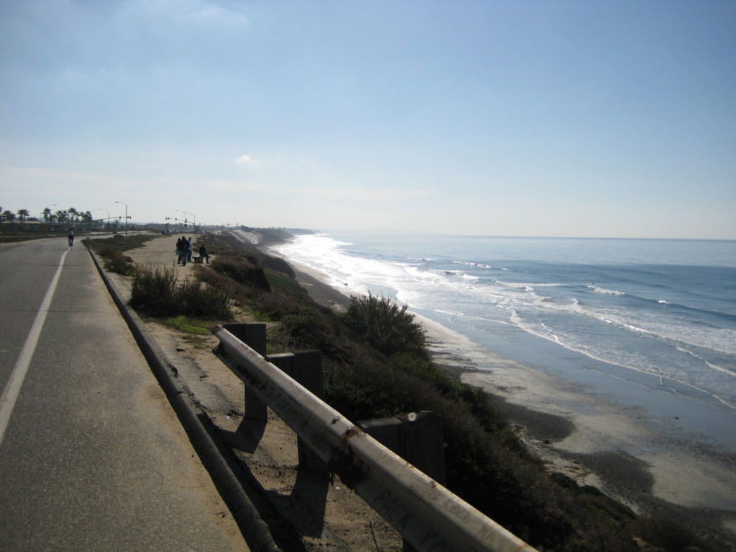 pacific coast highway mission beach to oceanside cycling