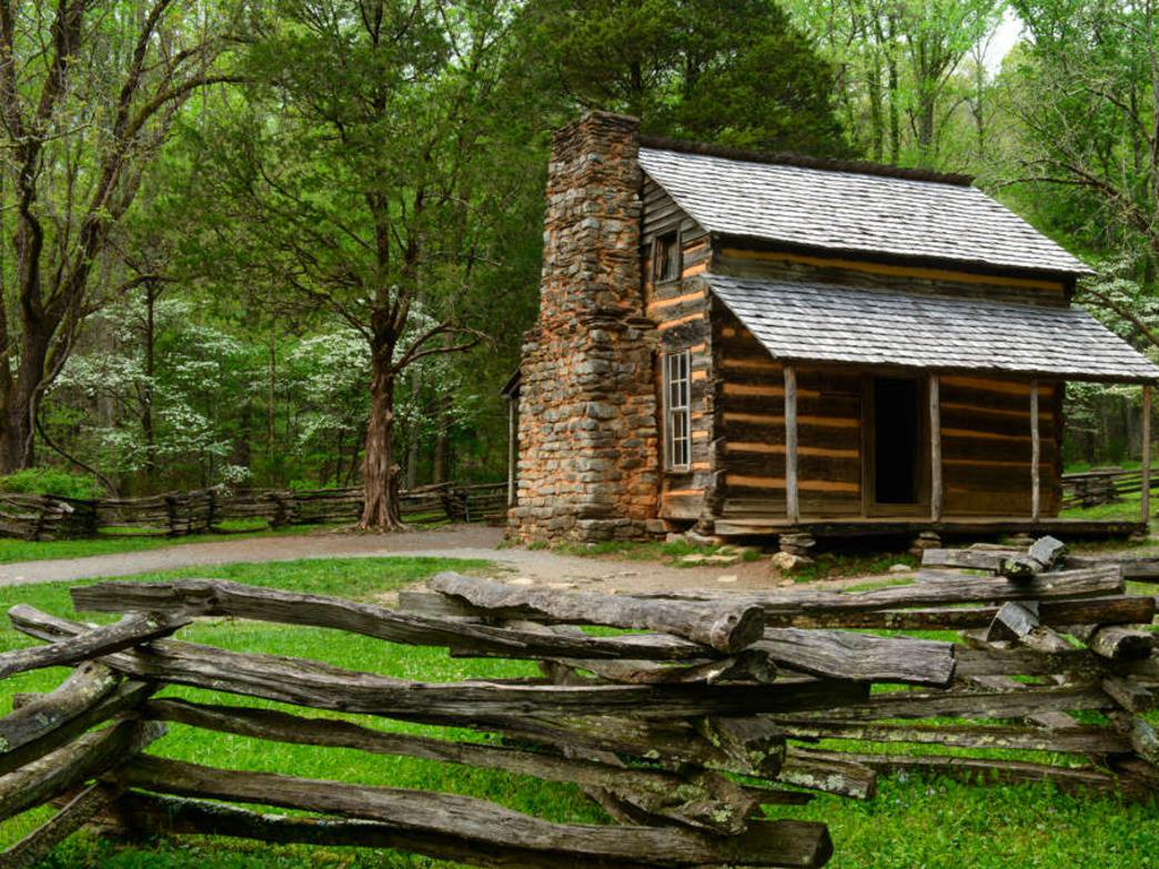 See historic sites like the John Oliver Cabin without enduring the standstill traffic of Cades Cove Loop