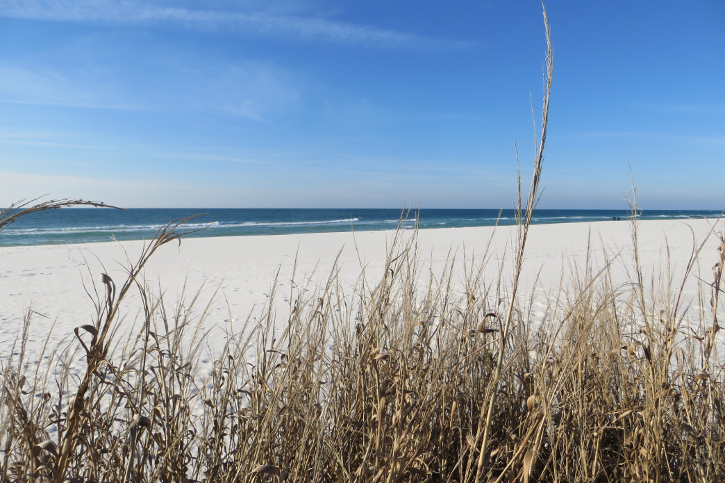 Fort Pickens Beach is just one of many spectacular gulf beaches accessible by the Florida Trail.