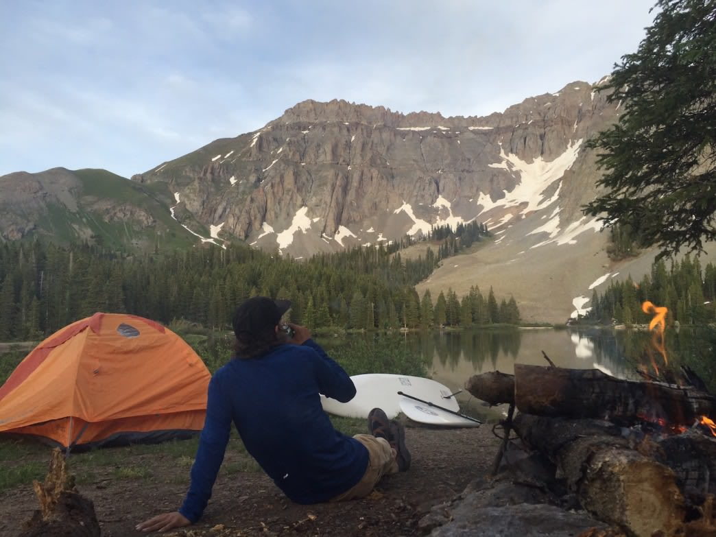 The dispersed camping at Colorado's Alta Lakes is easily some of the best you'll find in the West.