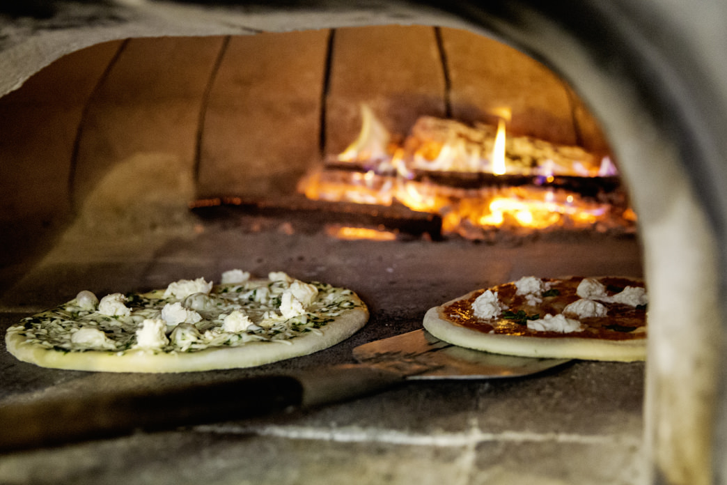 When all you want is a real, wood-fired pizza, look no further.     Go to WV