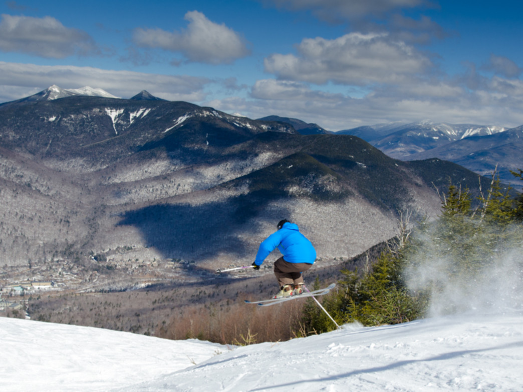 Snagging some air at Loon Mountain Resort