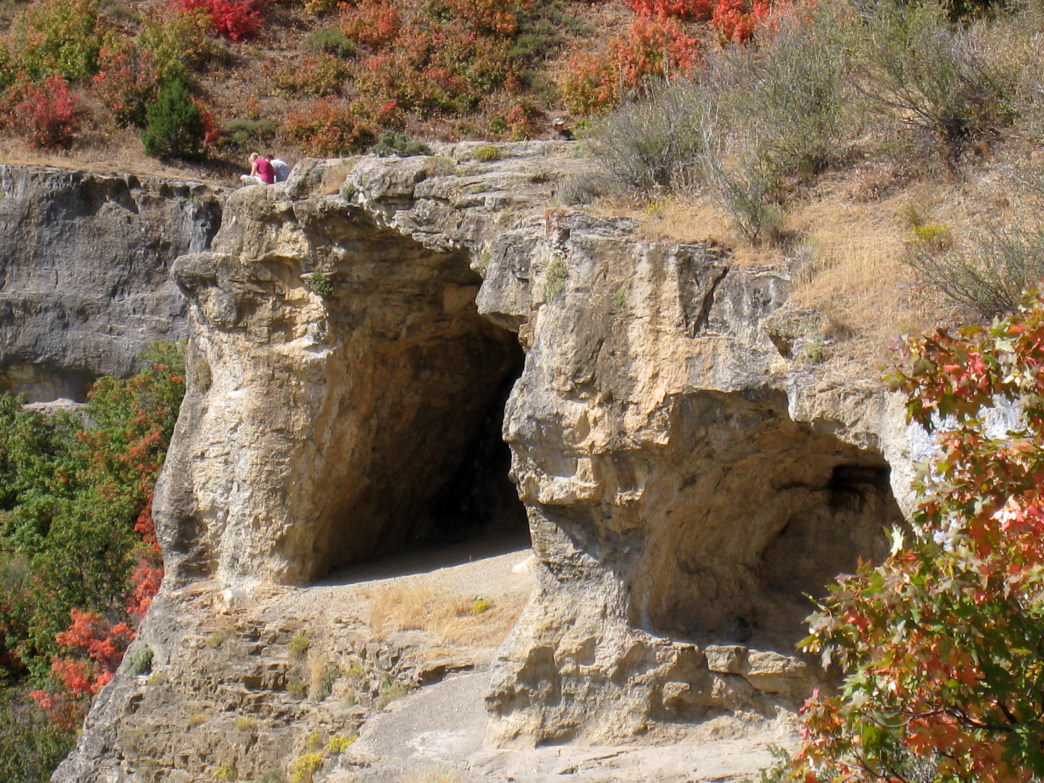 Logan's wind caves are a popular destination in the area.