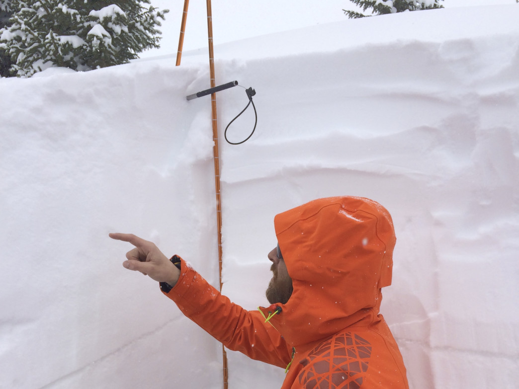 Understanding snow layers is key for backcountry safety.