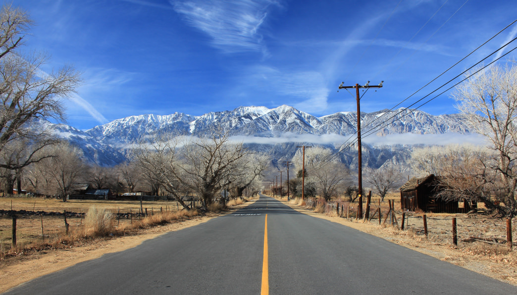Many of the roads in the Eastern Sierra are also great for cycling.