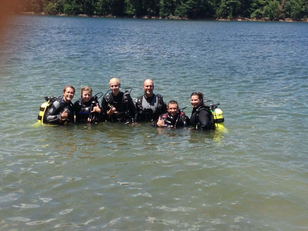 Melody and her team take people diving in West Virginia and beyond.     Melody Metz