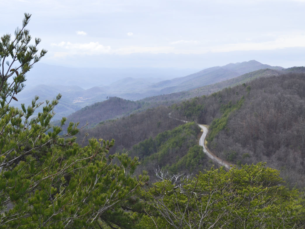 Foothills Parkway.