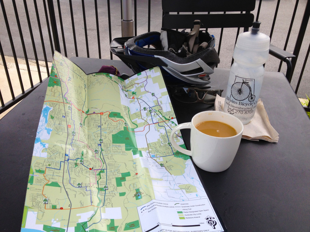 This map pulls together virtually everything known about Huntsville's bike routes, what is found along them, and how they are numbered and accessed.