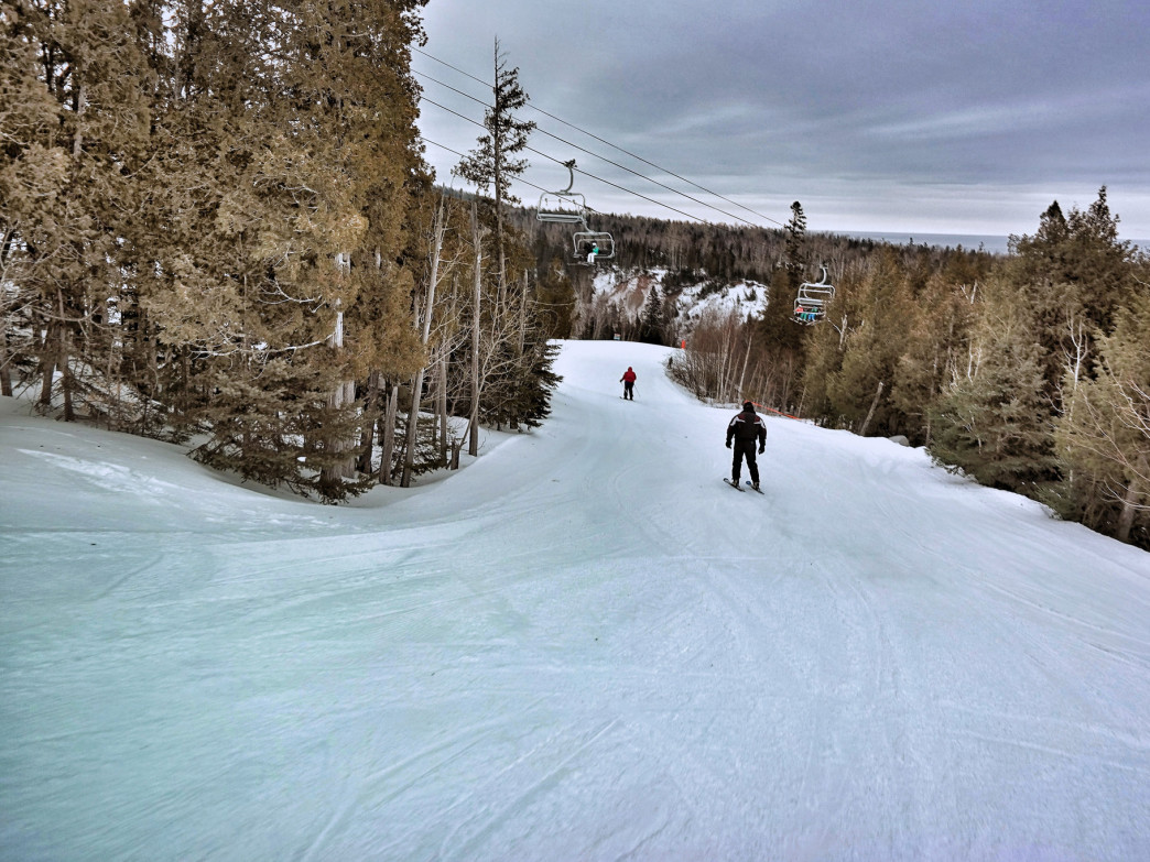 Lutsen Mountains offers 95 runs over four mountains, making it one of the largest resorts in the Midwest.