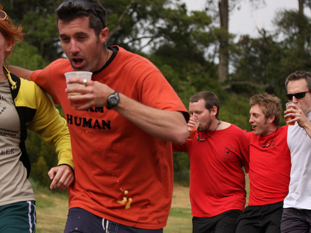 Hash runners combine running with bar hopping for an adventurous evening.