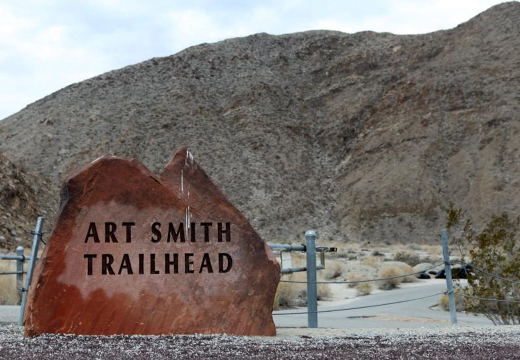 You may spot bighorn sheep grazing while out on the 8-mile Art Smith Trail.