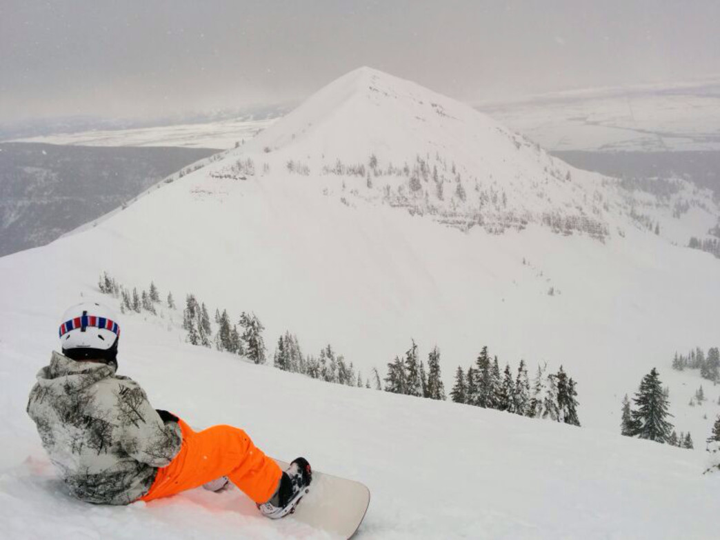 Sit back and take in the views on the western side of the Tetons.