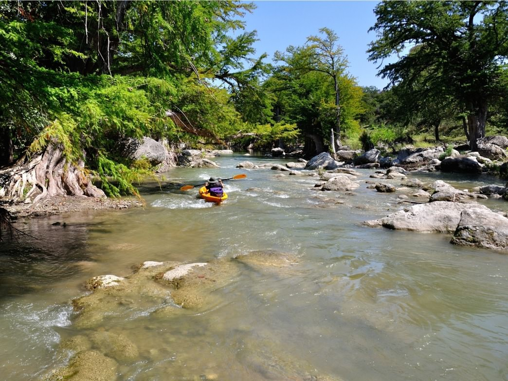 Upper And Lower Guadalupe River Paddling RootsRated - Los angeles river kayak map