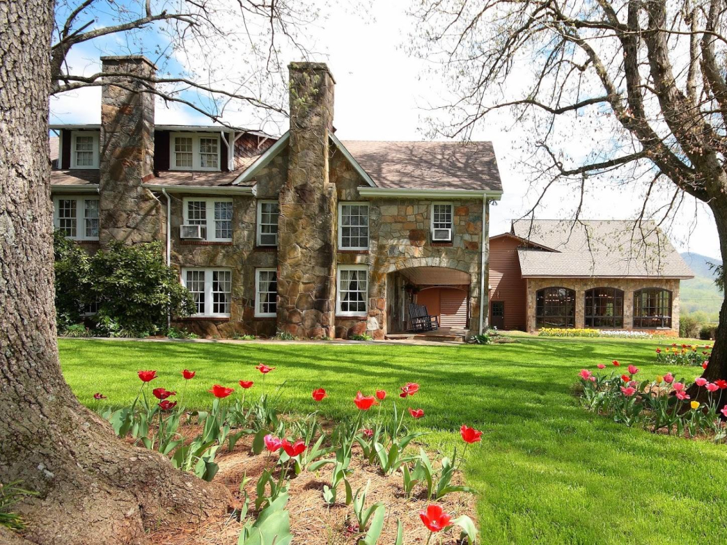 The family-owned Dillard House serves as an excellent base of operations for outdoor activities.