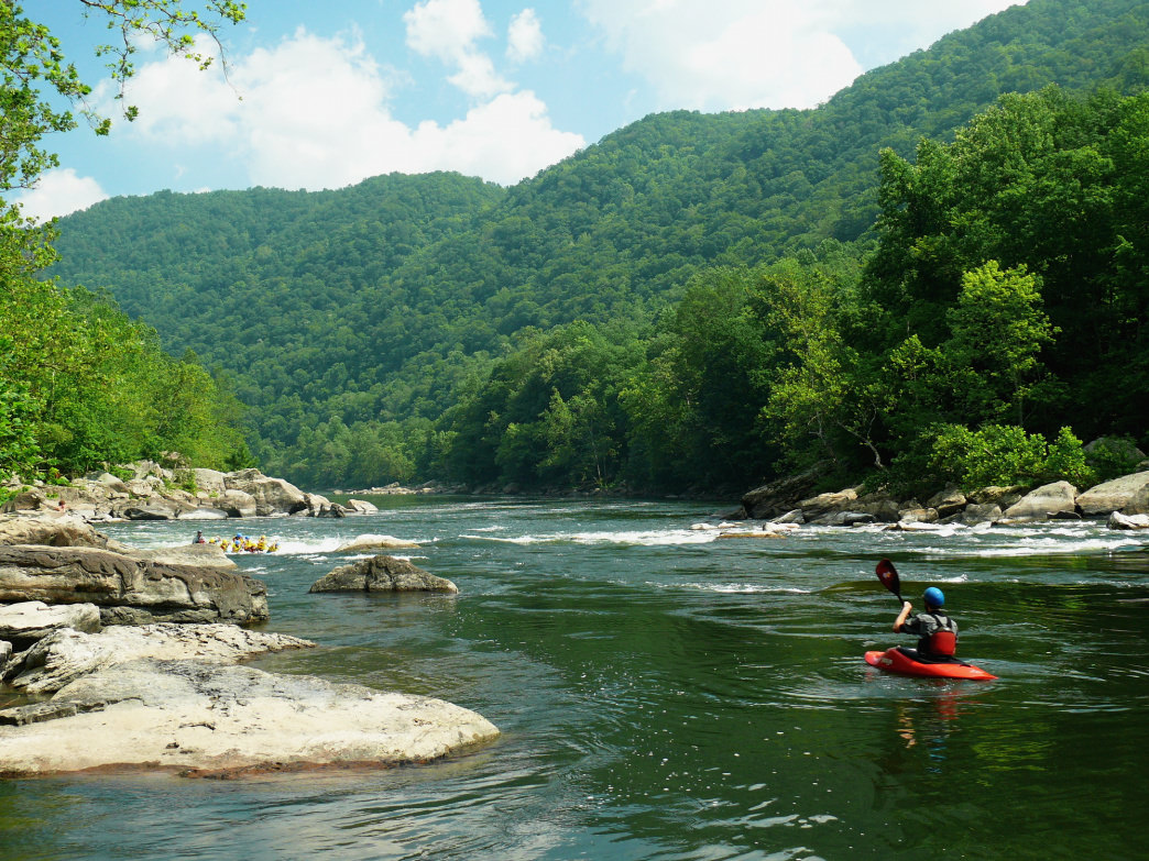 West Virginia has some wonderful paddling opportunities.