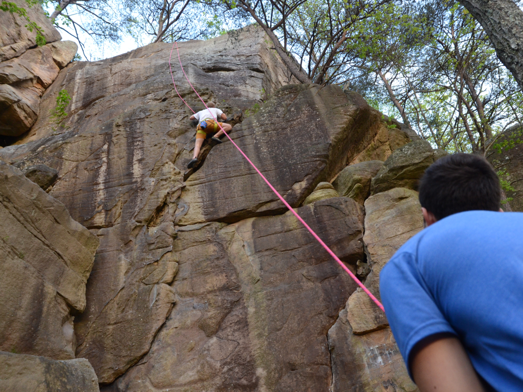 Classic Trad Climbing Routes Near Chattanooga Tn On