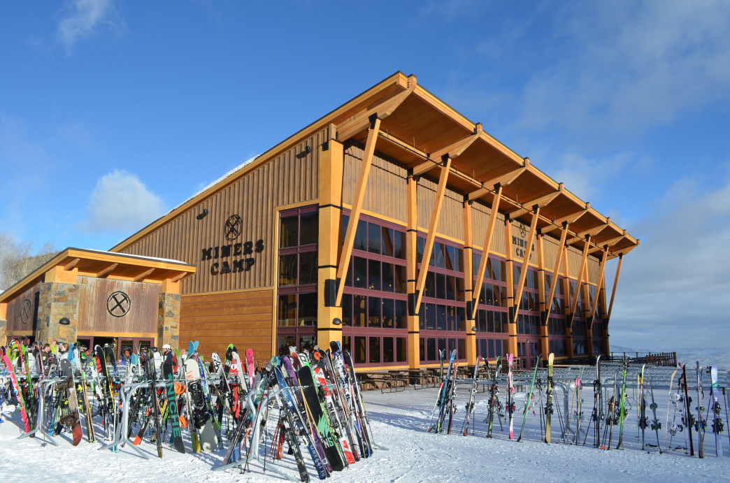 Miner's Camp, located next to the Quicksilver Gondola, offers 500 indoor seats.