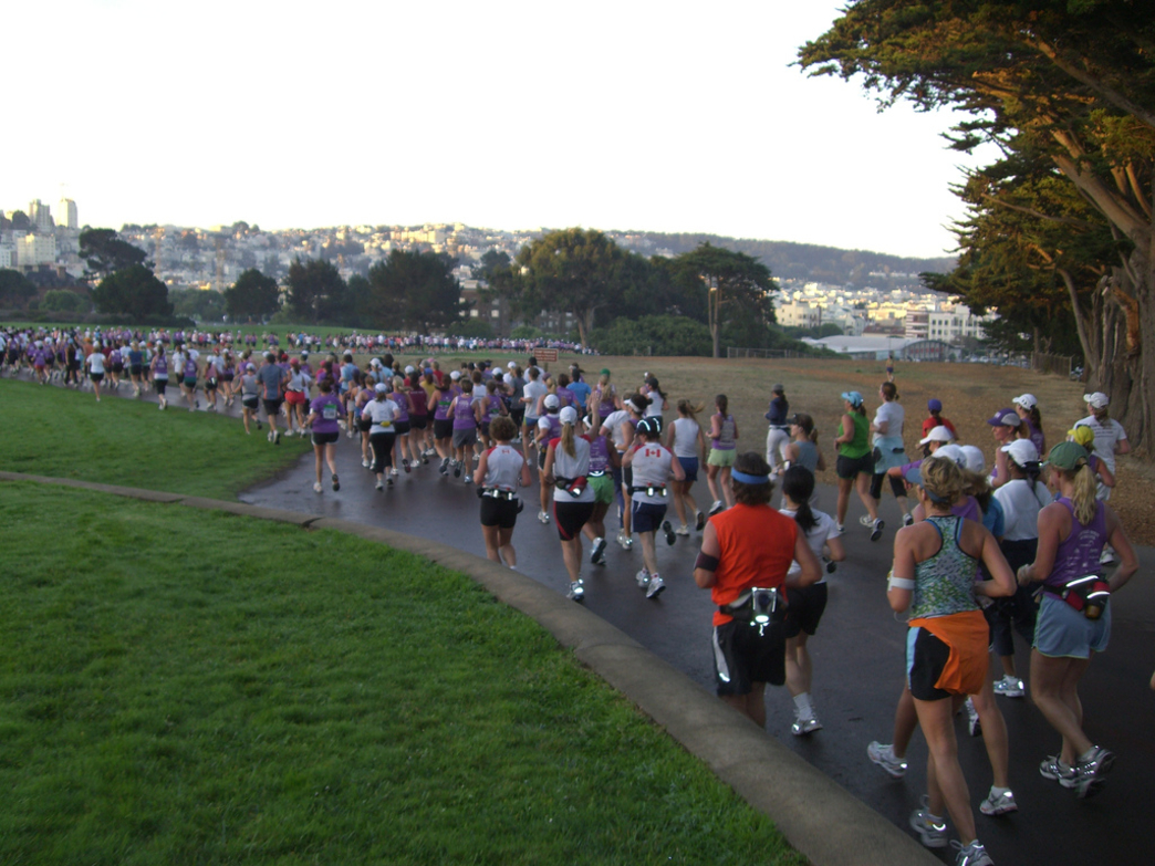 The San Francisco Marathon event also includes two half-marathons and a 5K.