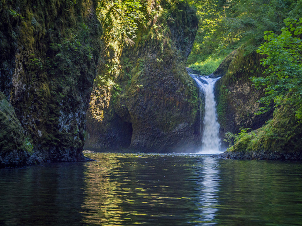 Punchbowl Falls is one of many highlights along the Eagle Creek Trail.