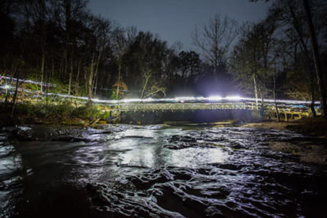 The famous bridge of the 24 hour One Epic Run.
