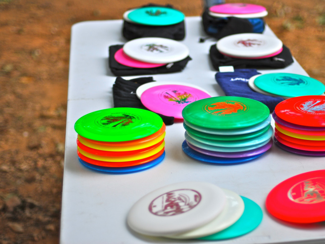 Richmond Hill Park features a challenging 18-hole disc golf course.