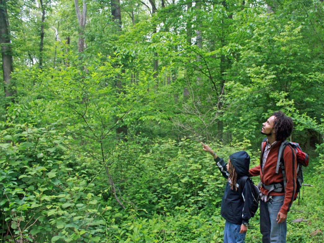Getting outdoors is a great bonding experience for kids and parents.