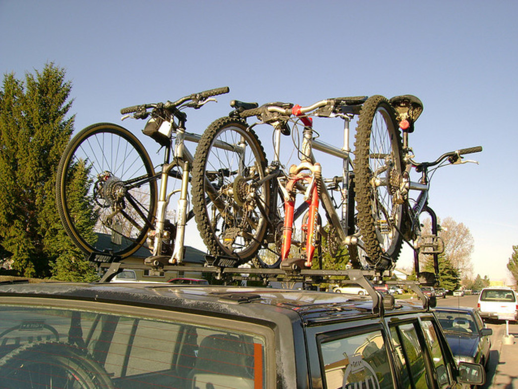 Pack up your bikes and drive to Grand Teton National Park for some great fall biking.