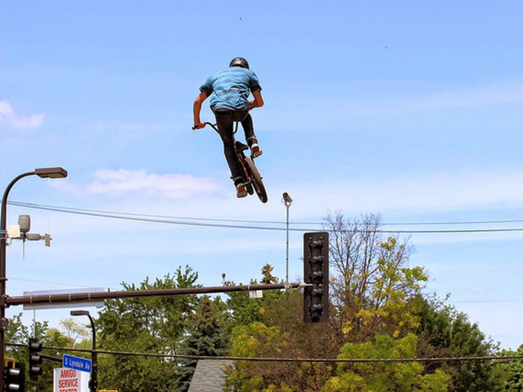 Some events attract bike enthusiasts who are taking the sport to new heights.