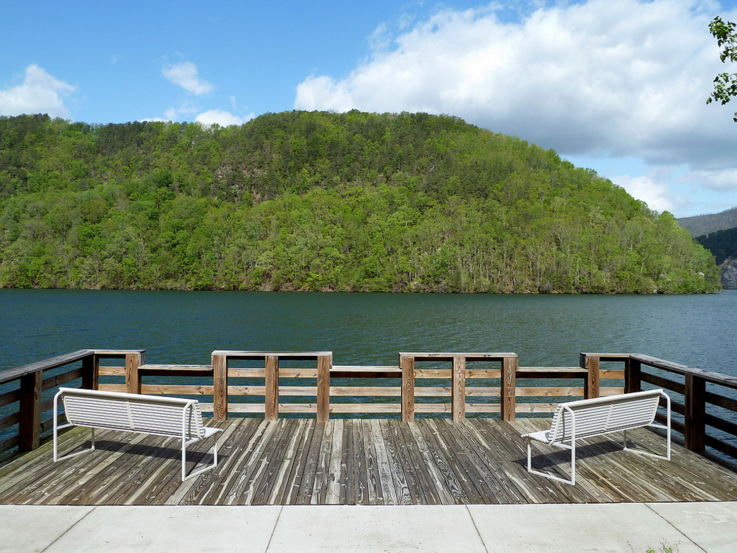 Chilhowee Lake offers a serene spot for paddlers and fisherman looking for an escape.