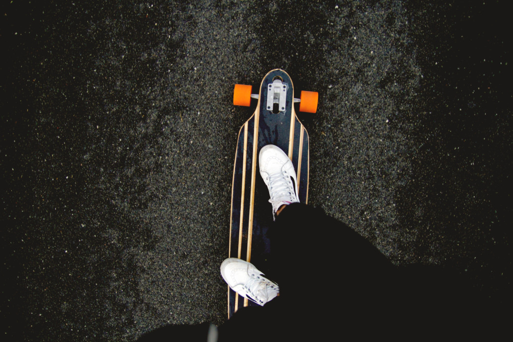 You can find lots of paved trails in Atlanta that are perfect for longboarding.    Sasha Bond