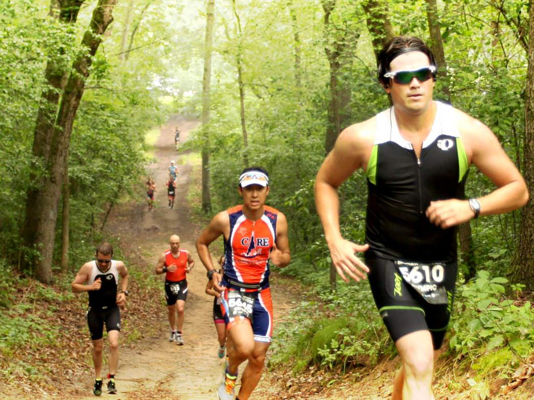 The Big Foot Trail Run, held in conjunction with the Big Foot Triathlon, is a great introduction to trail running in Lake Geneva.