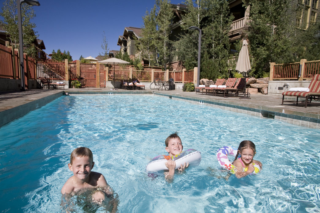 Head to one of Deer Valley's pools and while away the afternoon as the kids splash at your feet.