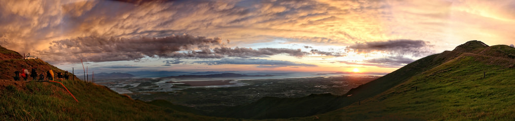 Take in an incredible view from Francis Peak.