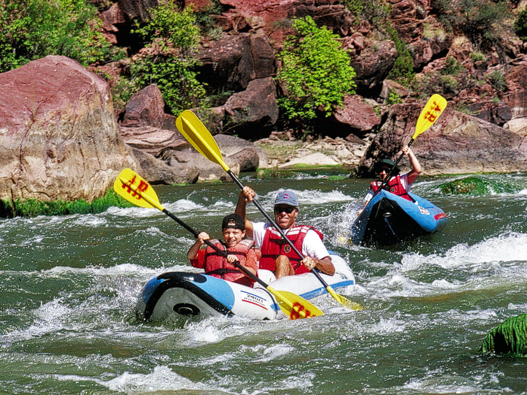 Sections of the Colorado River are considered some of the best short whitewater trips in the United States.