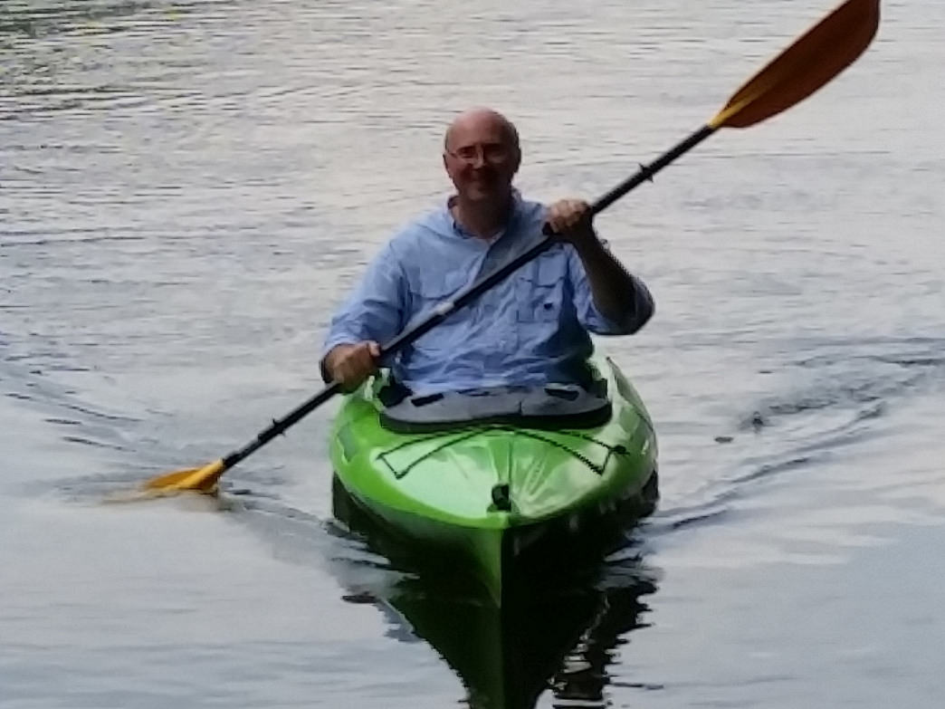 When not treating NASCAR's elite teams, Bill is paddling the many waterways of the Southeast.
