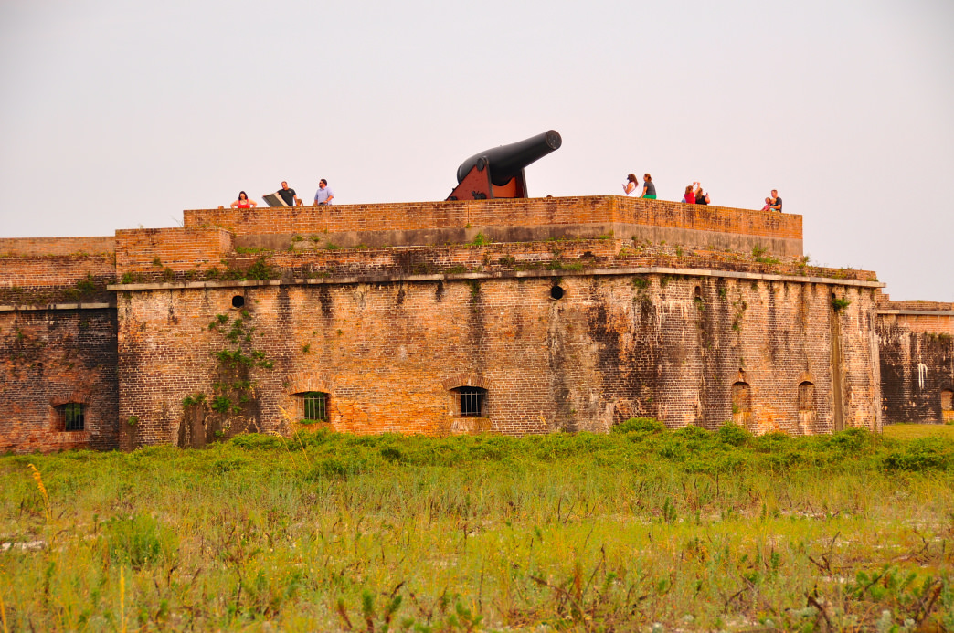 Historic Fort Pickens was built to protect the country's coastline after the War of 1812.