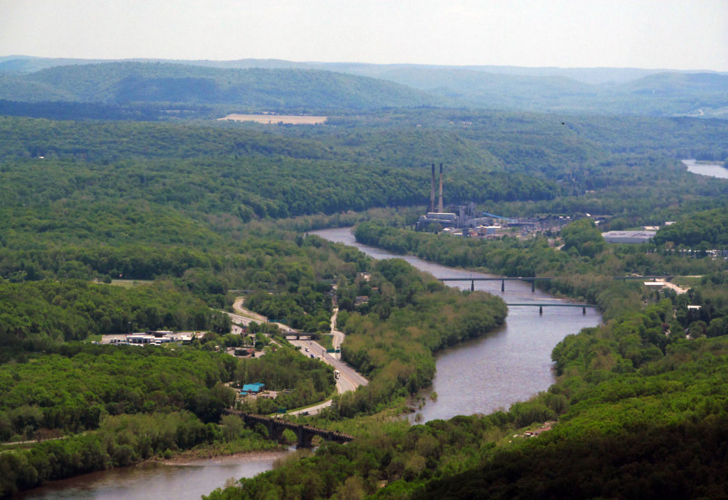 Delaware Water Gap in the Pocono Mountains