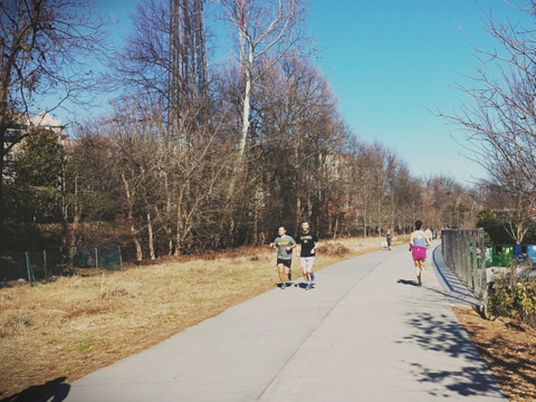 You can find plenty of organized outings on the Eastside Trail.