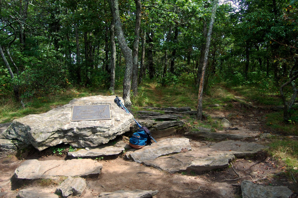 Hiking the trails on Springer Mountain offers visitors a scenic natural escape.