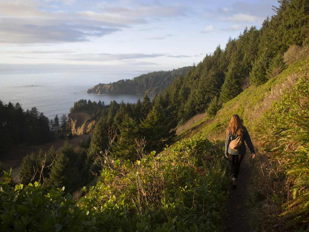 Neahkhanie Mountain rewards hikers with some of the best views on the Oregon Coast.