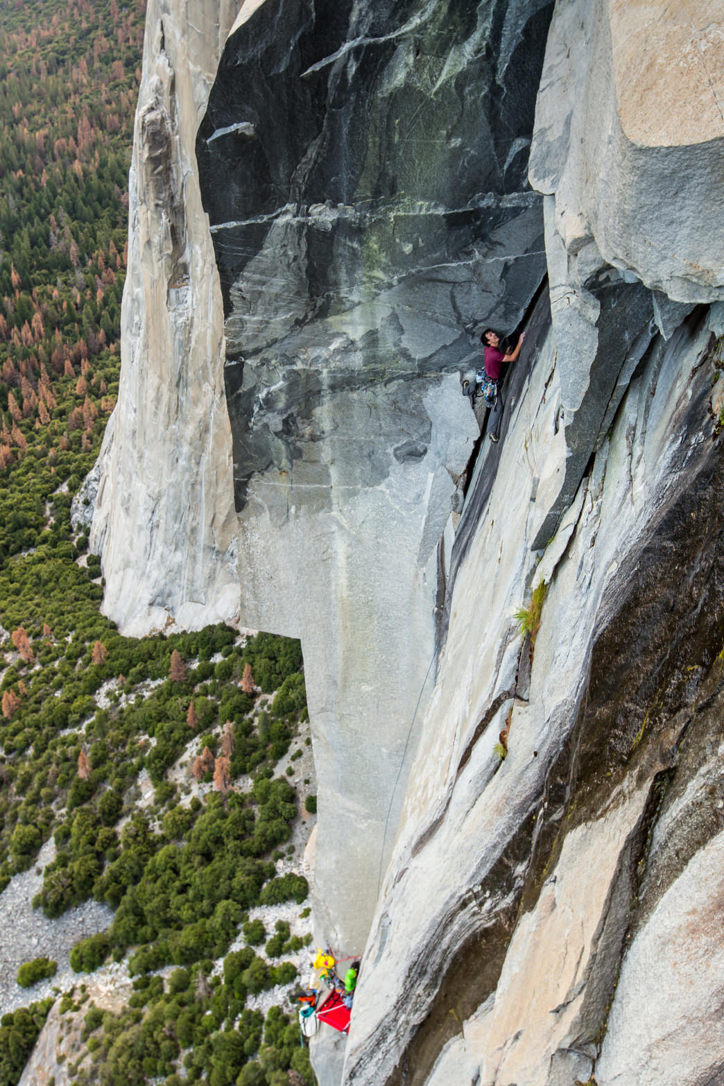 The Yosemite Valley, and the old schoolers who climbed there, set the standard for modern rock climbing.     Photo courtesy of Gramicci/Benjamin Ditto