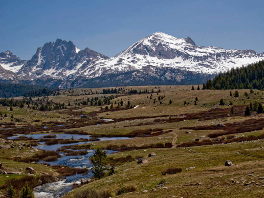 Views of the Wind River Range are part of the stunning scenery near Pinedale.