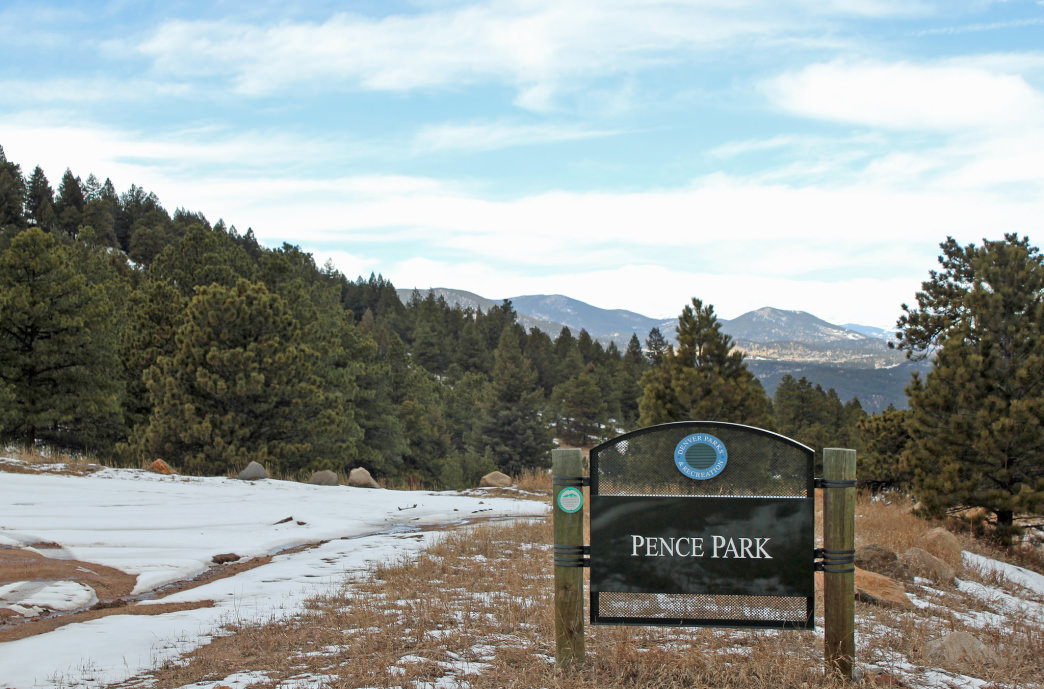 Pence Park, the gateway to Mount Pence.